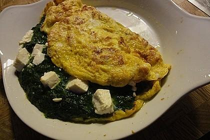 Spinat-Käse-Omelett 22