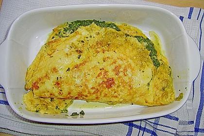 Spinat-Käse-Omelett 13