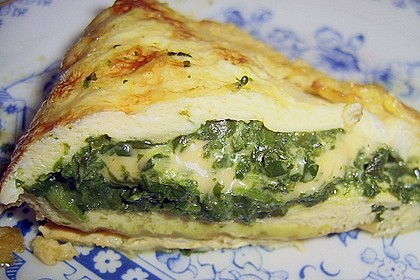Spinat-Käse-Omelett 3