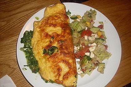 Spinat-Käse-Omelett 21