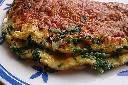 Spinat-Käse-Omelett 7