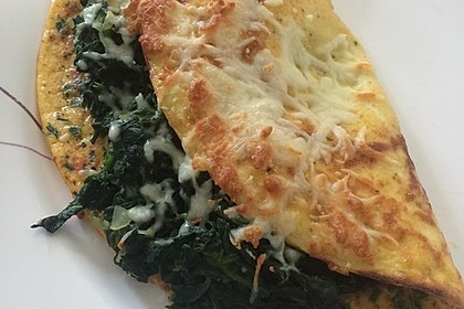Spinat-Käse-Omelett 8