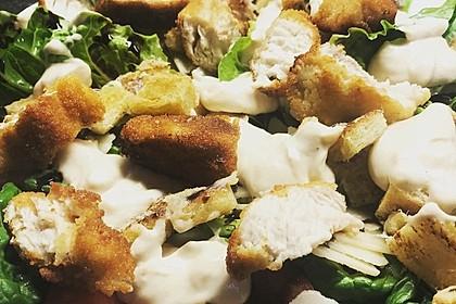 Caesar's Salad mit Parmesan - Croûtons 9