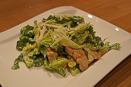 Caesar's Salad mit Parmesan - Croûtons 6