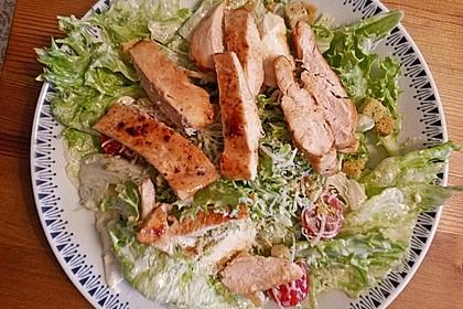 Caesar's Salad mit Parmesan - Croûtons 7