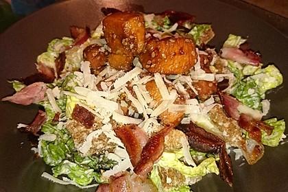 Caesar's Salad mit Parmesan - Croûtons 2