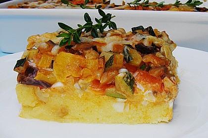 Polentaschnitten mit Gemüse 2