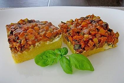 Polentaschnitten mit Gemüse 3