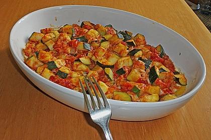 Polentaschnitten mit Gemüse 13
