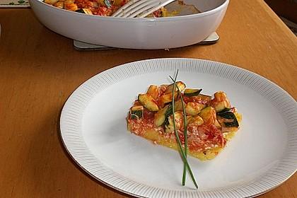 Polentaschnitten mit Gemüse 4