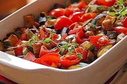 Polentaschnitten mit Gemüse 1