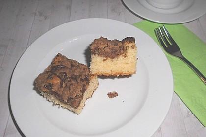 Marmorkuchen auf dem Blech 3