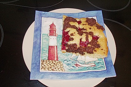 Marmorkuchen auf dem Blech 1