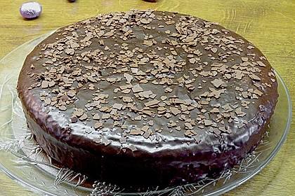 'Schwarze Versuchung' - Schokoladenkuchen