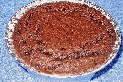'Schwarze Versuchung' - Schokoladenkuchen 3