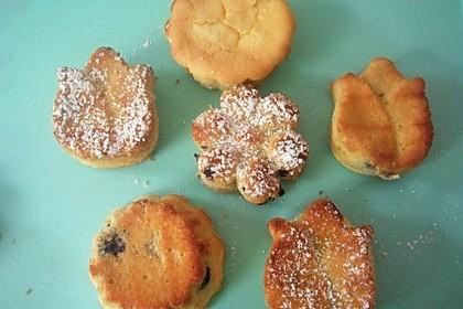 Vanille - Quark - Sahne Muffins (Bild)