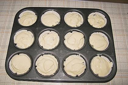 Vanille - Quark - Sahne Muffins 3