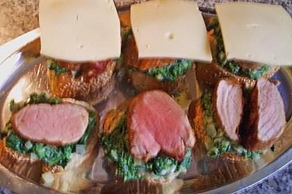 Gratinierte Filet - Schnitten 4