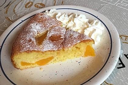 Pfirsich - Blitzkuchen