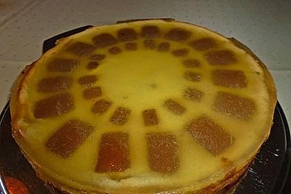 Orangen - Käsekuchen mit  After eight (Bild)