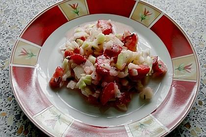 Fruchtiger leichter Sommersalat