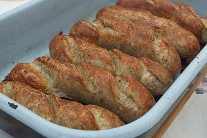 Bratwurst aus dem Ofen