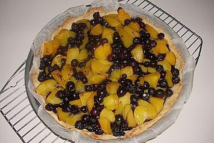Peach Blueberry Cobbler Pie 4