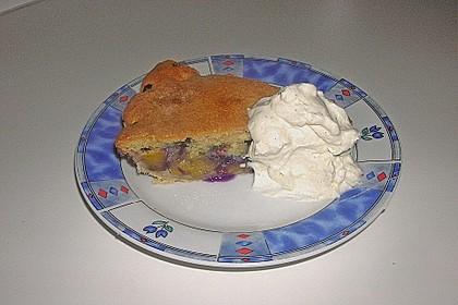 Peach Blueberry Cobbler Pie 3