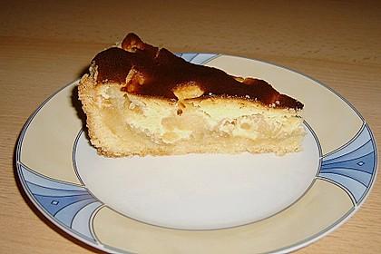 Apfelkuchen mit Marzipanguss 2