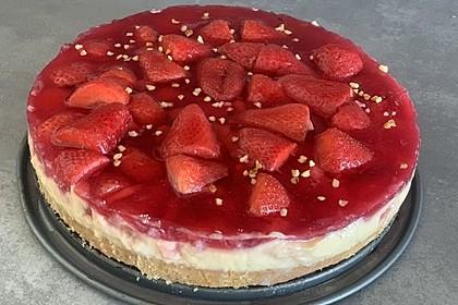 Erdbeerkuchen Mit Vanillepudding Von Bärenmama Chefkoch