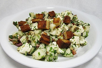 Birnen - Käse - Speck - Salat à la Krischu (Bild)
