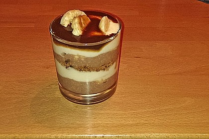 Bananen - Vanille - Schokocreme - Dessert 25