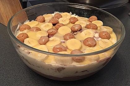 Bananen - Vanille - Schokocreme - Dessert 24
