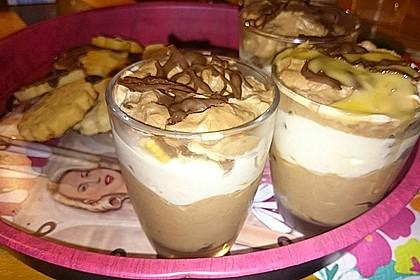 Bananen - Vanille - Schokocreme - Dessert 31