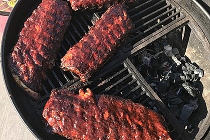 Spareribs Gasgrill Wieviel Grad : Spezial spare ribs von rösratherin chefkoch