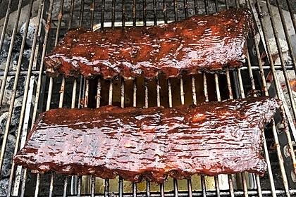 Spareribs Gasgrill Rezept : Spareribs im verfahren auf dem gasgrill u meat me at the bbq