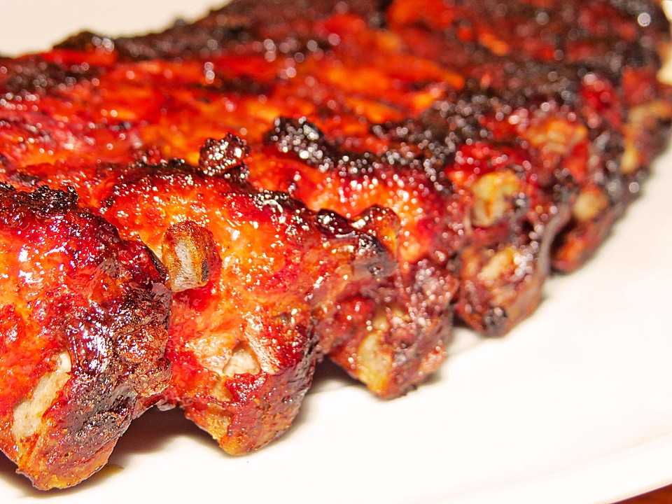 Spare Ribs Vom Gasgrill : Smoked spare ribs st louis style aus dem gasgrill oder smoker