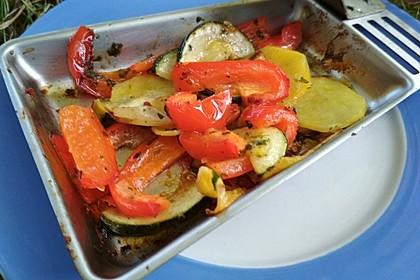 Gegrilltes Gemüse 11