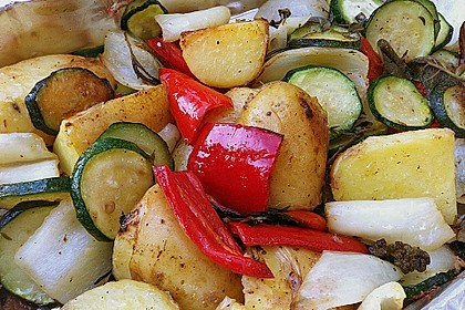 Gegrilltes Gemüse 4
