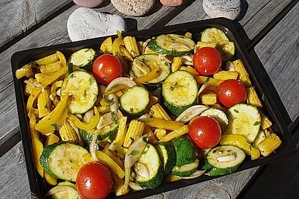 Gegrilltes Gemüse 9