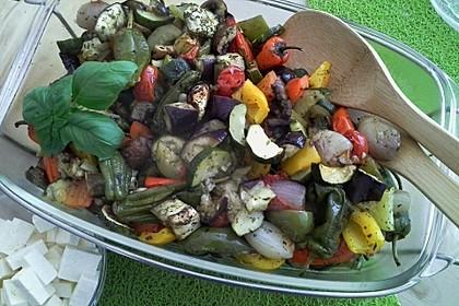 Gegrilltes Gemüse 16