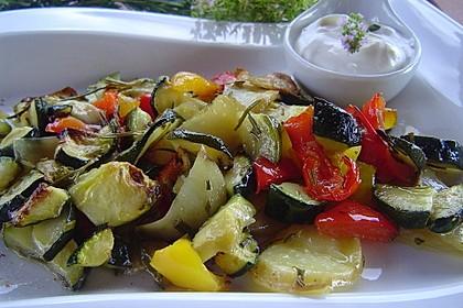 Gegrilltes Gemüse 12