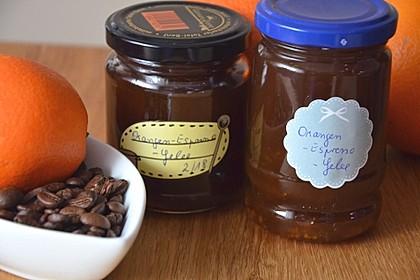 Espresso - Orangen - Gelee 1