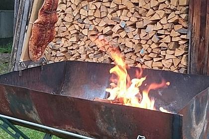 Würziger Flammlachs vom Feuer 3