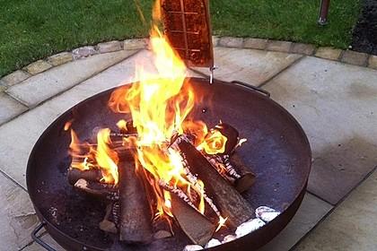 Würziger Flammlachs vom Feuer 5