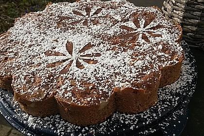 Buchweizen - Rührkuchen mit Apfel und Birne 2