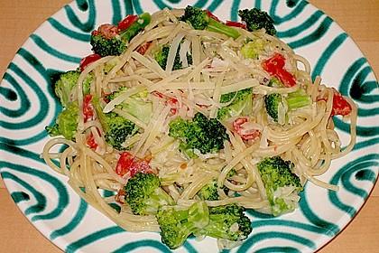 Brokkoli - Nudeln in Käsesauce 1