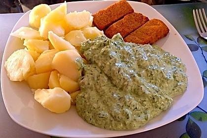 Frankfurter grüne Soße (vegan) 4