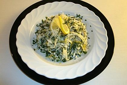 Tagliatelle mit Zitronen-Basilikum-Sauce 10