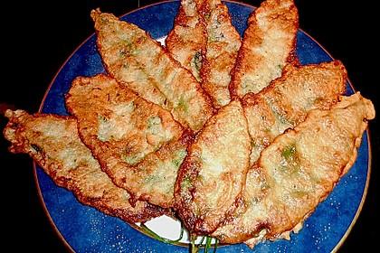 Bärlauch in Parmesan - Sekt - Kruste 1